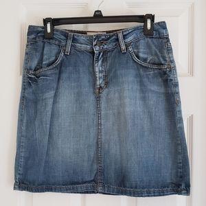H&M Classic Denim Mini Skirt